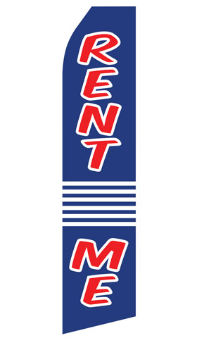 Rent Me Econo Stock Flag