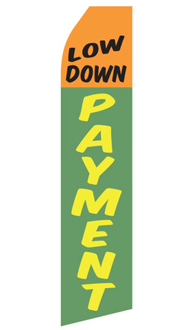 Low Down Payment Econo Stock Flag