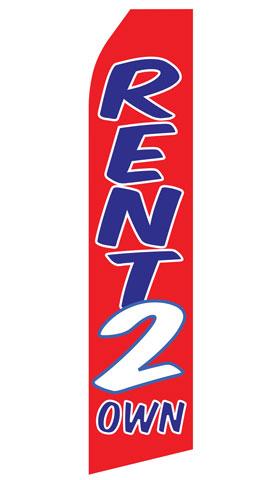 Rent 2 Own Econo Stock Flag
