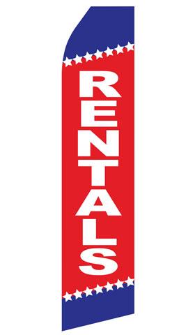 Rentals Econo Stock Flag