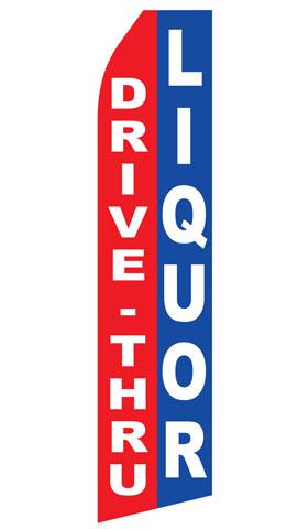 Drive Thru Liquor Econo Stock Flag
