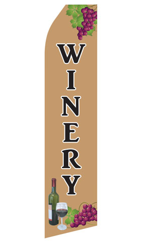 Winery Econo Stock Flag