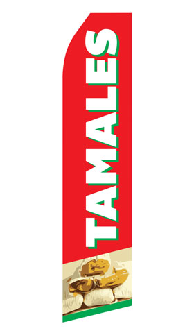Tamales Econo Stock Flag