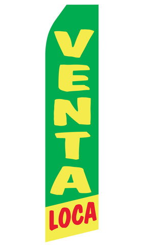 Venta Loca Econo Stock Flag