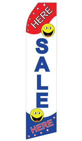 Sale Here Econo Stock Flag