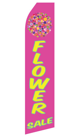 Flower Sale Econo Stock Flag