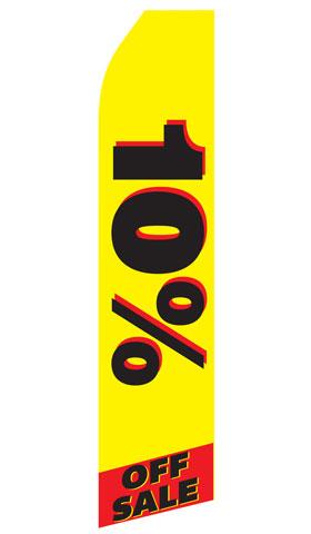 10% off Sale Econo Stock Flag