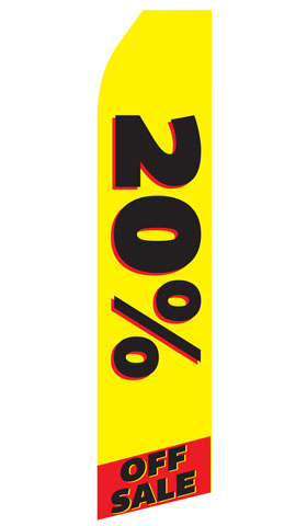20% off Sale Econo Stock Flag