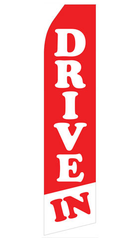 Drive In Econo Stock Flag