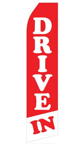 Drive In Econo Stock Flag