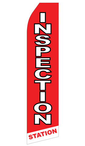 Inspection Station Econo Stock Flag