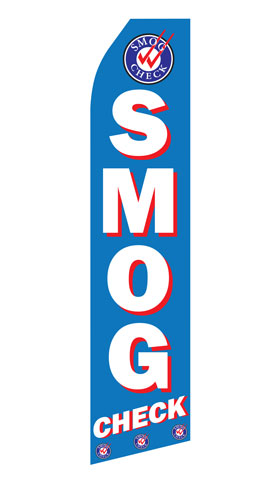 Smog Check Econo Stock Flag