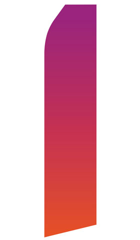 Purple Pink Gradient Econo Stock Flag
