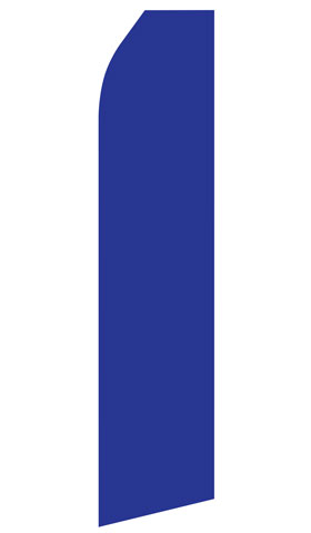 Dark Blue Econo Stock Flag
