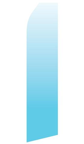Light Blue Gradient Econo Stock Flag