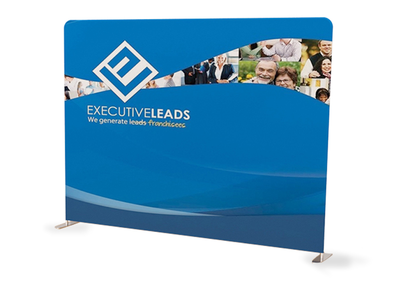 10ft Straight <nl/> Tension Fabric Display