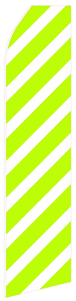 Green Slash Econo Stock Flag