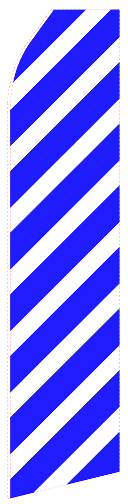 Navy Blue Econo Stock Flag