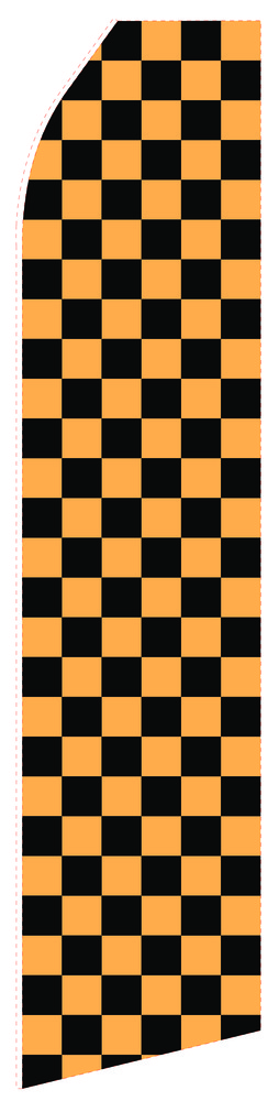 Dark Chessboard Econo Stock Flag