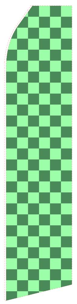 Light Green Grid Econo Stock Flag