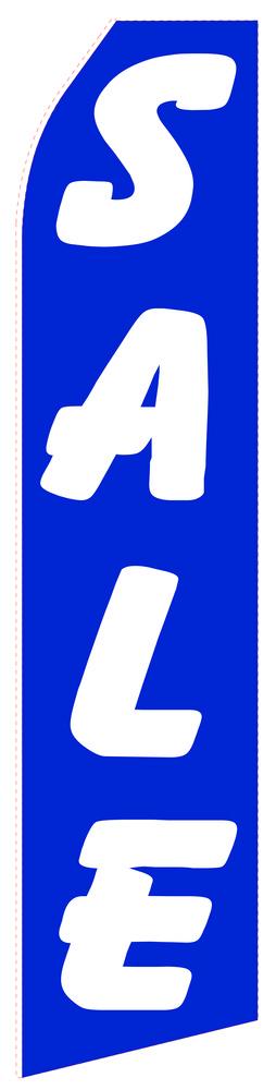 Blue Sale Econo Stock Flag