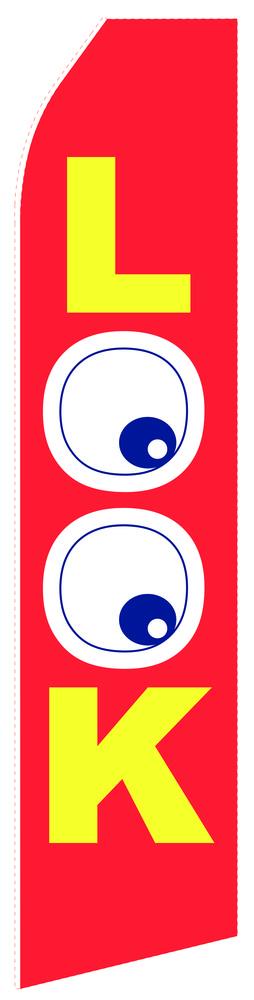 Looking Eye Econo Stock Flag