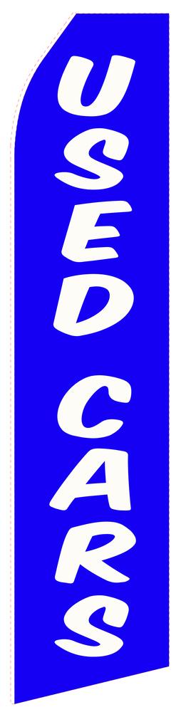Blue Used Cars Econo Stock Flag