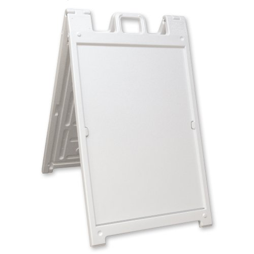 White Signicade Deluxe A-Frame (Hardware Only)