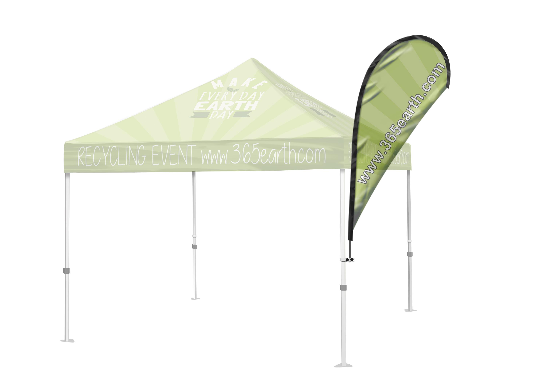 Tent Flag (Teardrop Small)