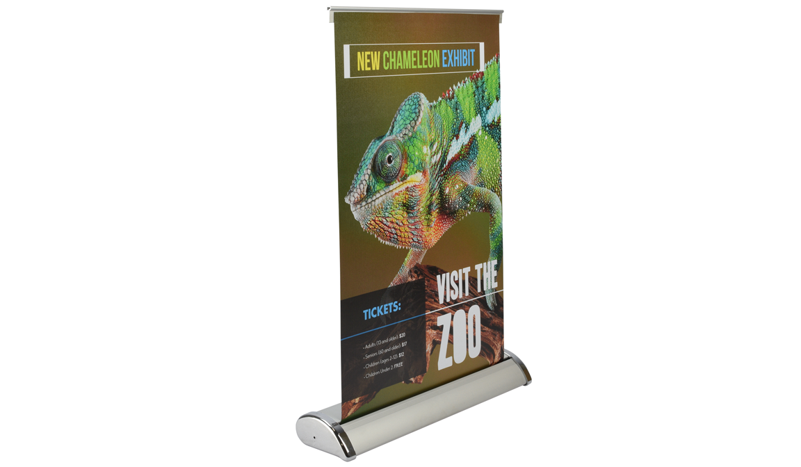 "Table Top Banner Stand 11.5""x17.5"""