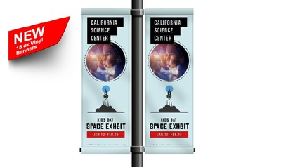 Vinyl Banner (18oz. Blockout)