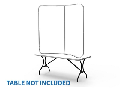 6ft CurveTension Fabric Display(Hardware Only)