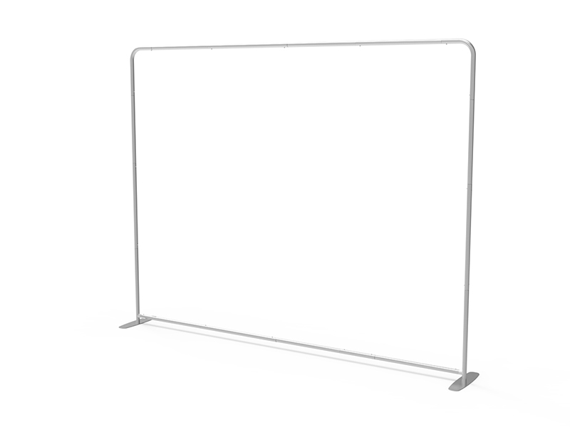 10ft StraightTension Fabric Display(Hardware Only)