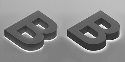 Halo/Reverse Lit Channel Letters