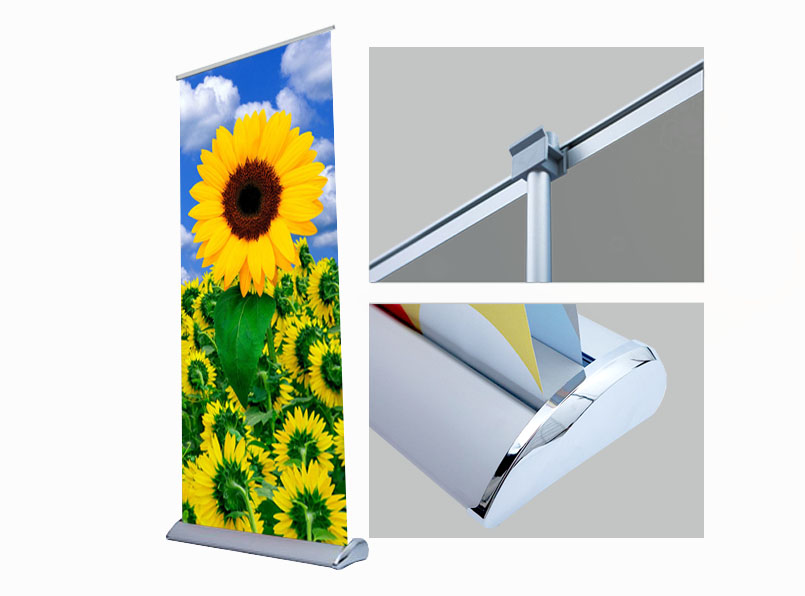 Deluxe Retractable Double Sided 33 Quot X81 Quot