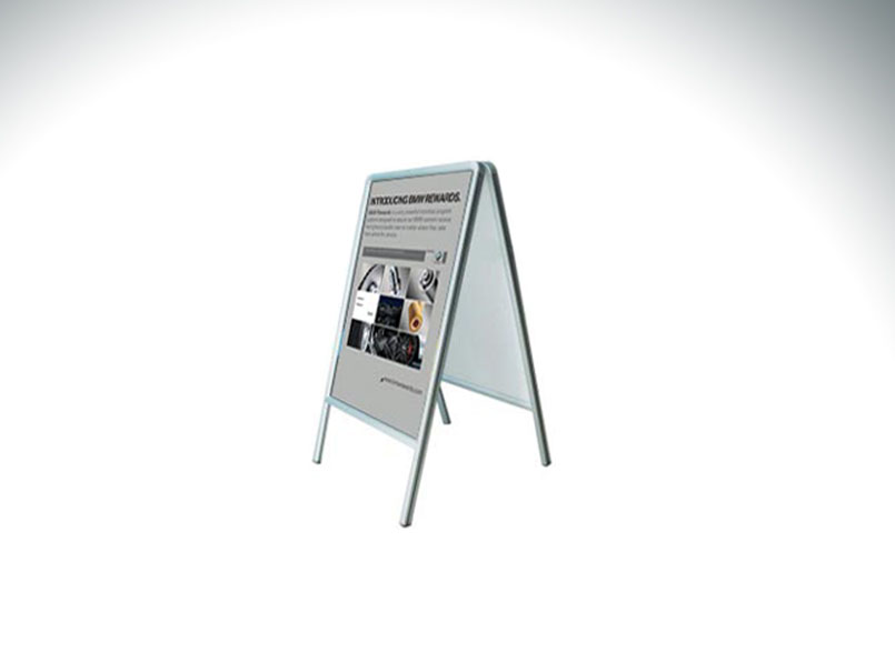 A-Frame Snap Poster Stand 33.25